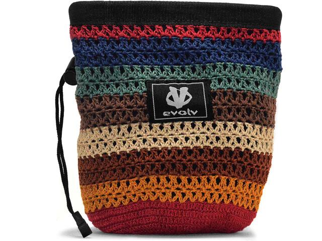 Evolv Knit Chalk Bag sherpa